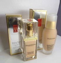 2 pc Elizabeth ARDEN 06 Warn Sunbeige & 40 Beige Flawless Finish Foundat... - $41.06