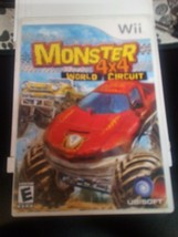 Monster 4X4: World Circuit (Nintendo Wii, 2006) Tested with manual - $1.90