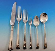 American Directiore by Lunt Sterling Silver Flatware Set Service 43 pcs Dinner - $2,850.00