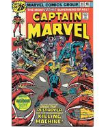 Captain Marvel Comic Book #44 Marvel 1976 FINE- - $5.24