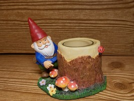 Yankee Candle Gnome Log Votive Holder  - $19.99