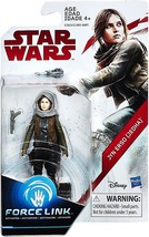 Star Wars Force Link Jyn Erso (Jedha) 3 3/4 Inch Action Figure - $5.75