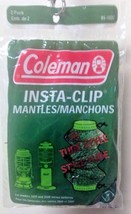 Coleman INSTA-CLIP Tube Mantle 2 Pk 95-102C For Models 2000 And 2500 Series New - $18.57