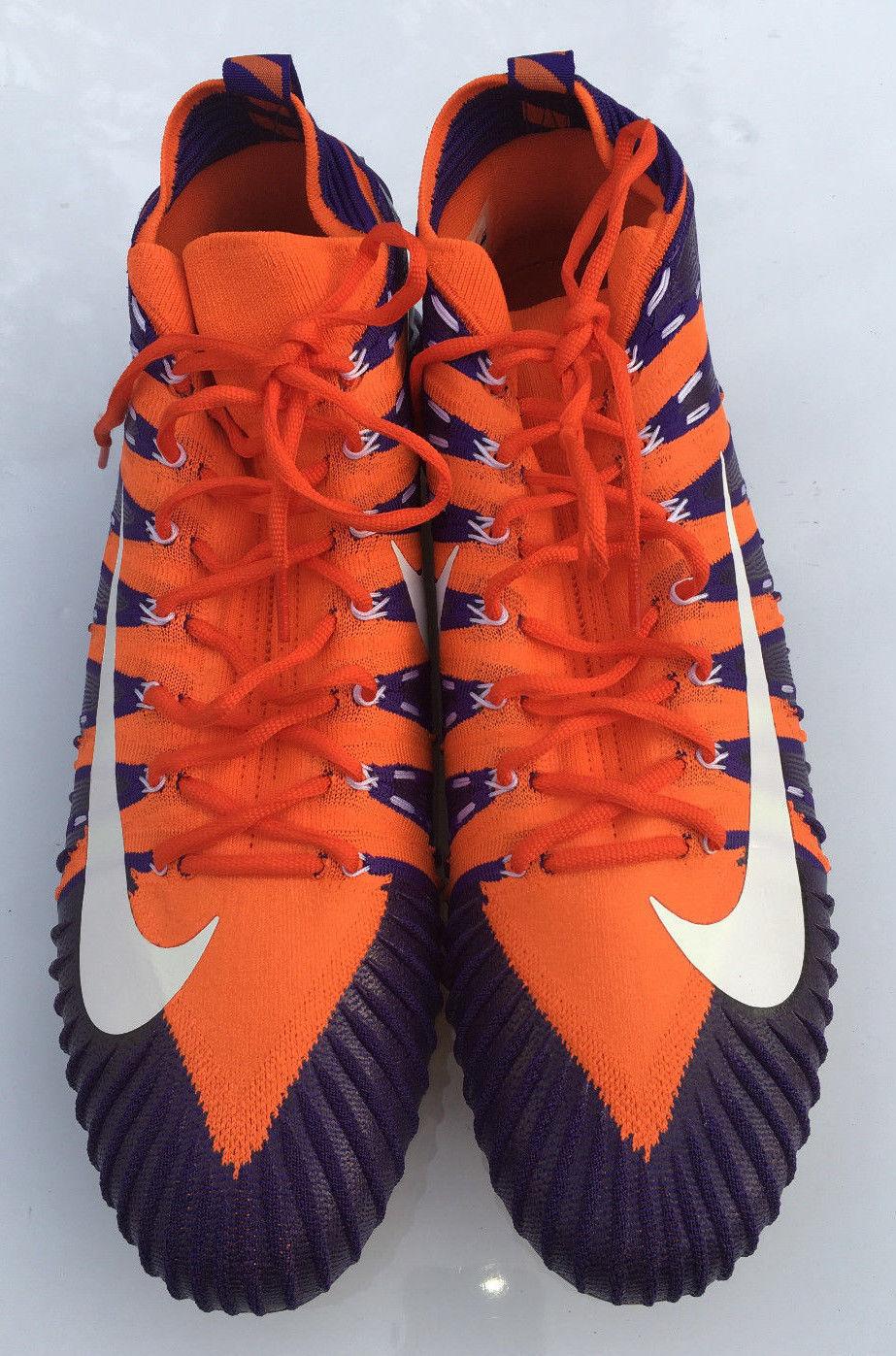 the latest d8329 2ce34 57. 57. Previous. Nike Alpha Menace Elite Football Cleats Tigers Orange size  13 16 877141-815. Nike Alpha ...