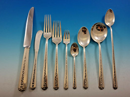 Rambler Rose by Towle Sterling Silver Flatware Set for 12 Service 124 pi... - $5,900.00