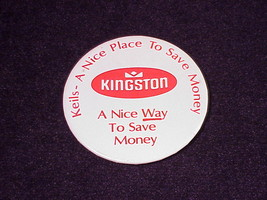 Vintage Kingston Keil's A Nice Place To Save Promotional Pinback Button,... - $5.95