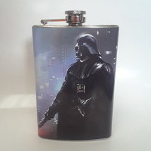 8 oz Darth Vader Flask, Vinyl Wrap - $16.13