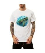 Feitong Brand  Sloth Sea Turtle Men T Shirts Fashion Casual Tops Animal ... - $13.45