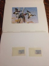 1986 First of State Vermont Migratory Waterfowl Stamps/Print S/N + Signe... - $222.00
