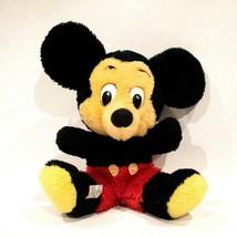 Vintage 7.5 In Mickey Mouse Disney World Plush Korea Tag Knickerbocker - $14.85