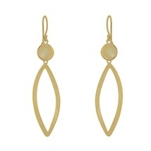 Fashion Women Gold Plated Stud Ear Dangle Drop Earrings Jewelry Gift - $19.79