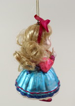 Hand Blown Glass Christmas Ornament of a little Girl  image 3
