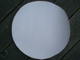 """WHITE unmounted Calf or Goat Skin Banjo Head in 24"""" and 22"""" sizes! - $20.30"""