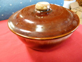 Great Collectable  KATHY KALE ....Brown Drip  COVERED DISH .....SALE - $17.82