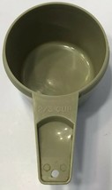 Vintage Tupperware Measuring Cup Avocado Green 2/3 Cup Size Replacement ... - $7.83