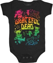 The Grateful Dead Dancing Bears Infant Baby Romper One Piece Bodysuit GD... - $21.58