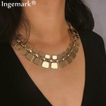 Ingemark Fashion Golden Multi Layer Tassel Choker Necklace Gift Vintage ... - $9.88