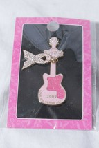 "Hard Rock Cafe Pin Pinktober Breast Cancer ""Love All Serve All"" Pink Rib... - $14.81"