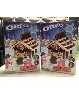 2 Oreo Mini Holiday Chocolate Cookie Christmas Gingerbread Kit Quarantin... - $25.99