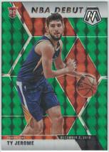 2019-20 Panini Mosaic NBA Debut #273 Ty Jerome Green Prizm Rookie RC Suns - $3.99