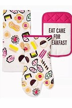 KATE SPADE New York EAT CAKE FOR BREAKFAST 3-Piece Kitchen Set - $59.26