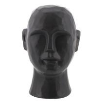 "8"" Matte Black Ceramic  Bust Decorative Sculpture - $75.00"