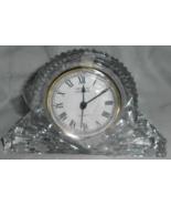 """Godinger """" Crystal Legends """" Lead Crystal Large Mantle Clock 6"""" X 4"""" vin... - $52.95"""