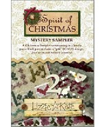 Spirit of Christmas Mystery Sampler Part 2 cross stitch chart Lizzie Kate - $8.10