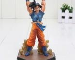 Anime Dragon Ball Z ZERO Son Goku Genki Dama Spirit Bomb Action Figure 16CM