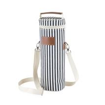 Waterproof Bottle Carrier, Seaside 1-bottle Insulated Wine Bottle Carrier - $33.79