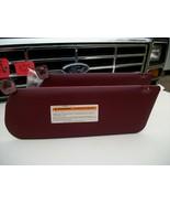 1995 1996 F150 Bronco Interior Sun Visor RH LH Vinyl Red 1987-1991-1994 OEM - $78.36