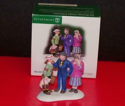 "Dept. 56 Christmas In The City 2003 ""Off To College!"" Accessory IN BOX 5... - $22.28"