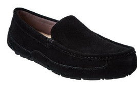 Ugg Australia Mens Adler Black Slippers 10 - $74.76