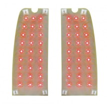 FTL6772LEDPR 1967-72 Ford Truck & 66-77 Ford Bronco LED Tail Light Set/Pair - $76.21