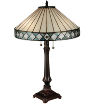 "25""H Diamondiring Table Lamp - £324.27 GBP"