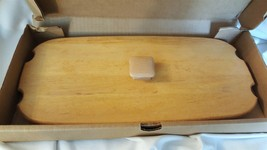 Longaberger Wood Crafts - Wood Lid - 1997 FATHER'S DAY #53139 - New In Box - $9.99
