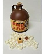 Vintage Plug A Jug Game Parker Brothers 1969 30 Letters, Die, Marble inc... - £13.89 GBP