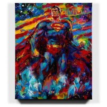 Blend Cota Superman Last Son of Krypton 48 x 60 S/N LE Gallery Wrapped Canvas - $2,000.00