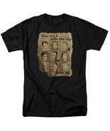 Firefly / Serenity Cast Burned Poster Art Image T-Shirt NEW UNWORN - $19.99