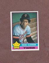 1976 Topps # 400 Rod Carew Minnesota Twins Nice Card - $3.99