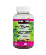 2 Kirkland Signature Adult Multi-vitamin Gummies -250 Gummies Canada LON... - $39.51
