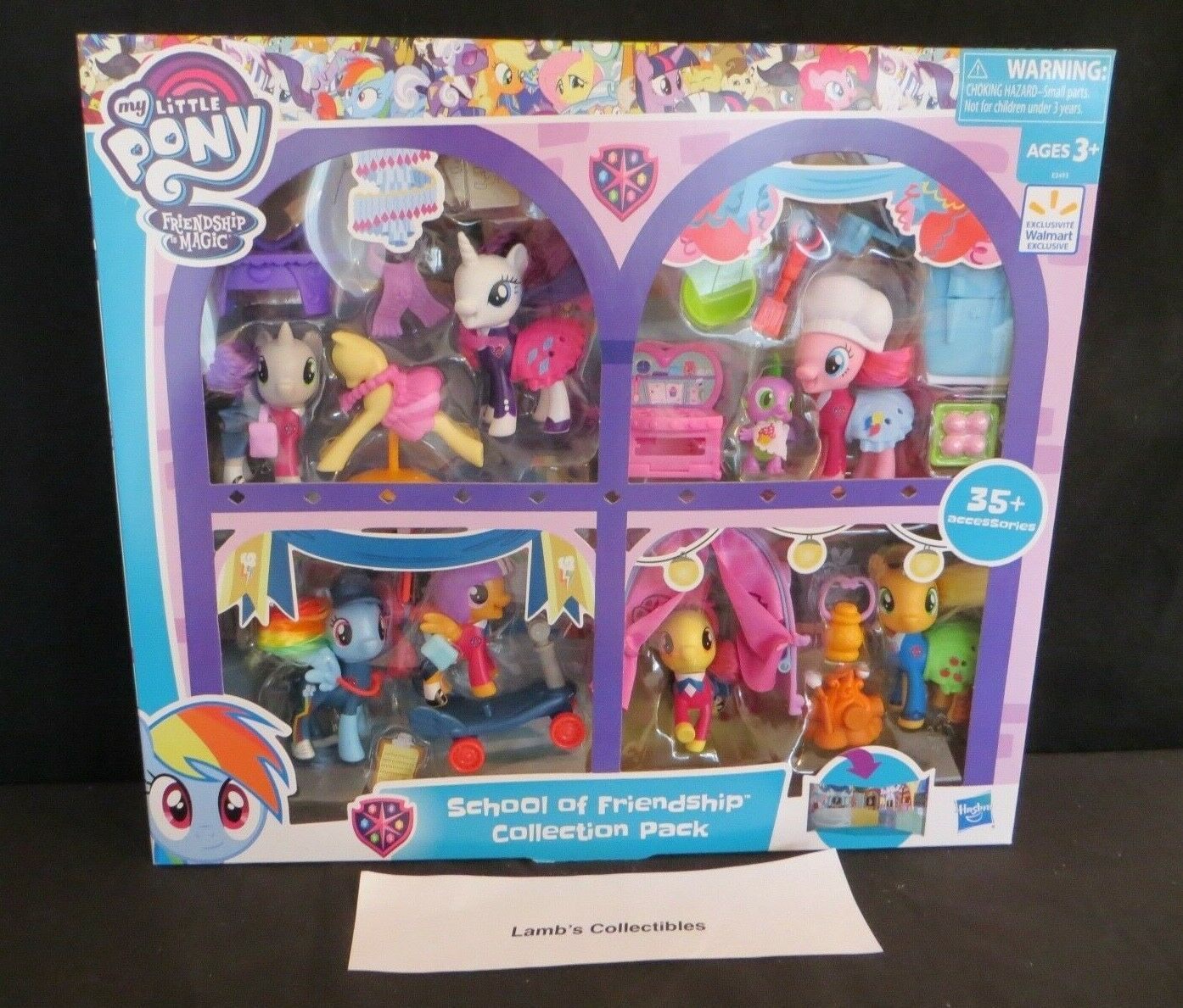 Primary image for My Little Pony Friendship is Magic School of Friendship collection pack excl