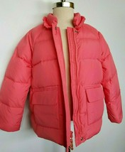 J. Crew Crewcuts Girls Puffer Jacket Coat Down Size 6-7 NWT - $94.99