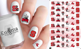 NC State Wolfpack Nail Decals (Set of 50) - $4.95