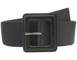 Michael Kors Signature MK Monogram Embossed Logo Panel Leather Belt, Sma... - $50.00