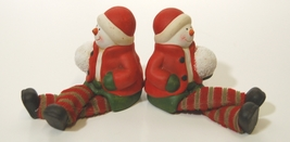 Unbranded 51696 Dangling Feet Snow Kid Set of 2 Colors Red Green White Brown image 2