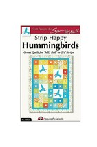New Design Originals DO916 Strip-Happy Quilting Template Hummingbirds Pa... - $11.65