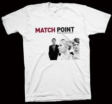 Match Point T-Shirt Woody Allen, Jonathan Rhys Meyers, Matthew Goode, ci... - $14.99+