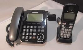 Panasonic KX-TG4771 Corded Phone Handset + KX-TGA470B Cordless w/ Chargi... - $39.59