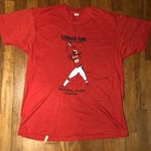 VTG 80s Leonard King Football Free Agent Camp NFL Coors Atlanta GA T Shi... - £40.71 GBP